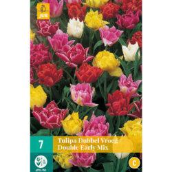 Tulpen Dubbel Vroeg Mix 7st.