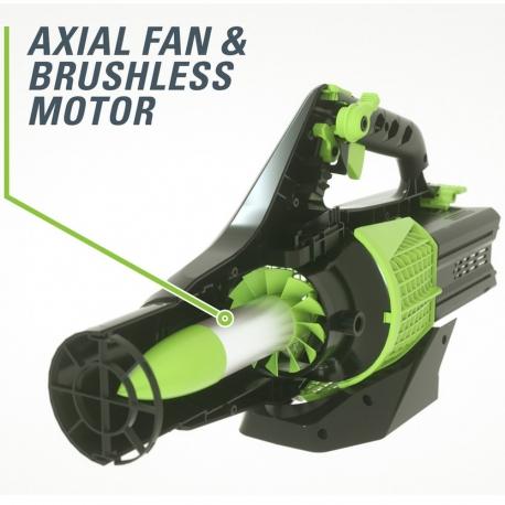 Greenworks 60 volt accu bladblazer incl. 60 volt 2 Ah + 60 volt lader
