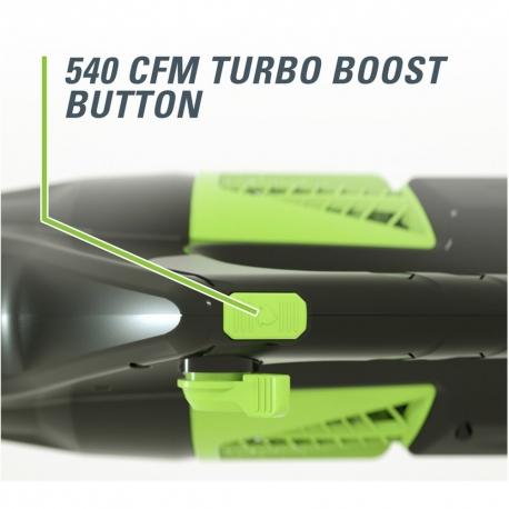 Greenworks 60 volt accu bladblazer incl. 60 volt 4 Ah + 60 volt lader