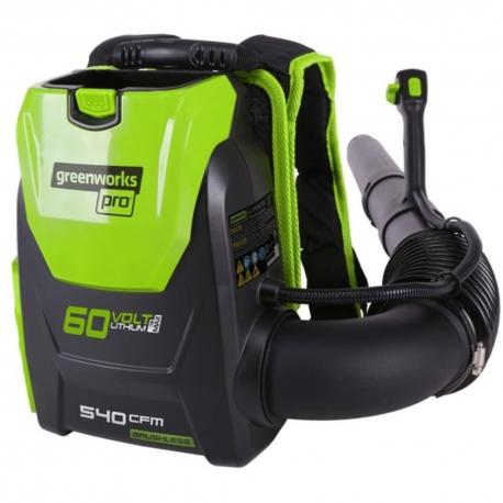 Greenworks 60 volt accu ruggedragen bladblazer incl. 60 volt 4 Ah + 60 volt lader