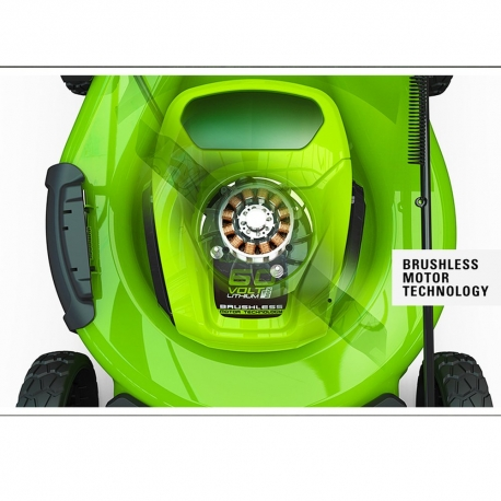 Greenworks 60 volt accu grasmaaier