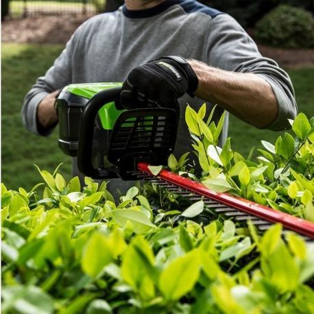 Greenworks 60 volt accu heggenschaar incl. 60 volt 2 Ah + 60 volt lader