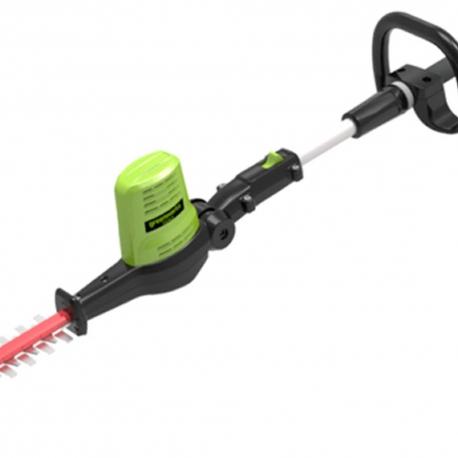 Greenworks 60 volt accu heggenschaar op steel