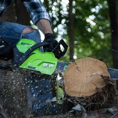 Greenworks 60 volt accu kettingzaag 40 cm