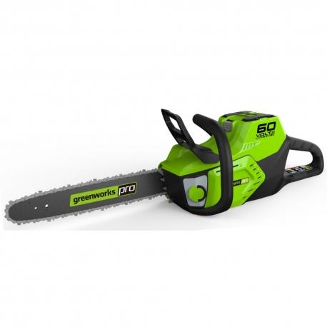 Greenworks60 volt accu kettingzaag 40 cm incl. 60 volt 4 Ah + 60 volt lader