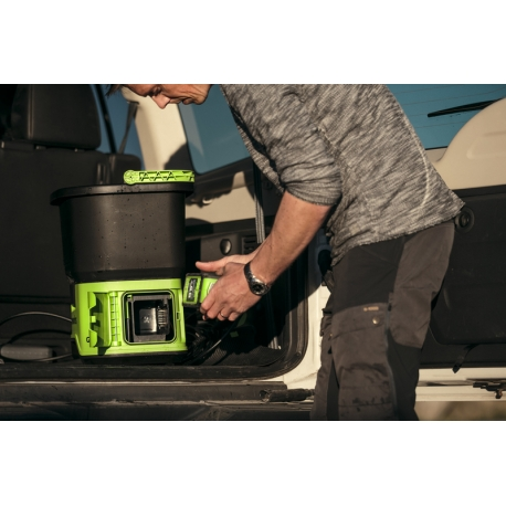 Greenworks 60 volt accu hogedrukreiniger incl. 60 volt 2 Ah + 60 volt lader