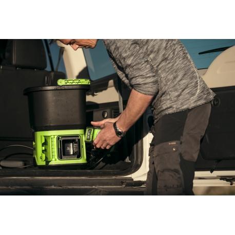 Greenworks 60 volt accu hogedrukreiniger incl. 60 volt 4 Ah + 60 volt lader