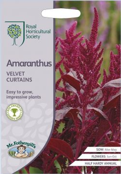 Amaranthus Velvet Curtains