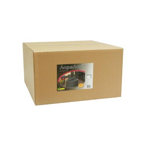 DecoWall Wicker I ronde omranding zwart voor container 90l