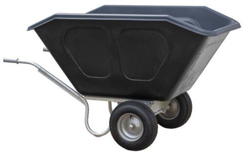 Volume kruiwagen HDPE 500 L 2-wiel