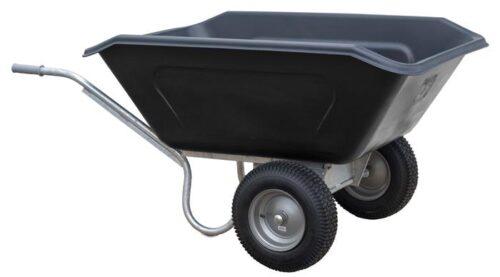 Volume kruiwagen HDPE 350 L 2-wiel