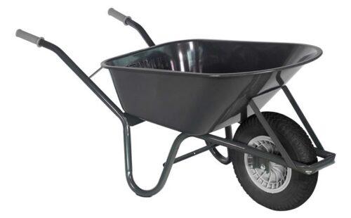 Bouw kruiwagen staal 85 L