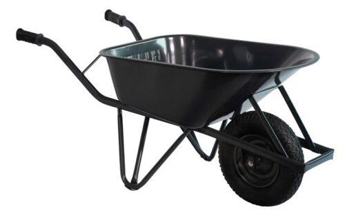 Bouw kruiwagen staal 85 L ovale buis