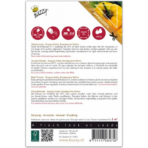 Buzzy Pomodori Vleestomaat - Grappa Gialla