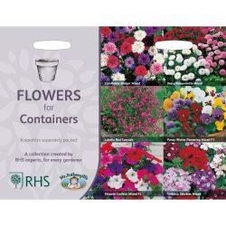 collectie bloemen voor potten