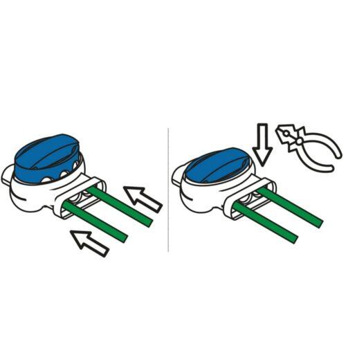 Draadklemmen voor Greenworks Optimow® robotmaaiers