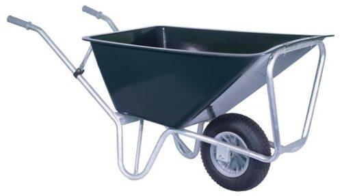 Stal kruiwagen groen PRO 160 L