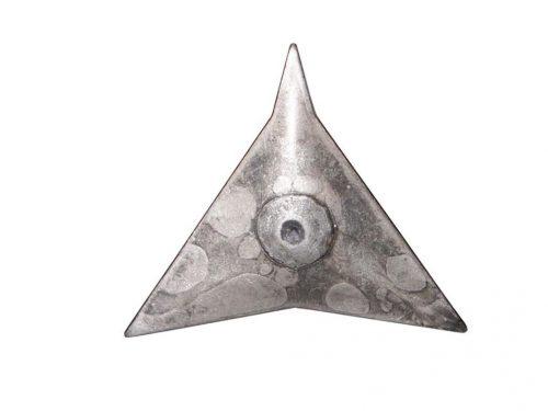 Tegelritzer gesmeed staal