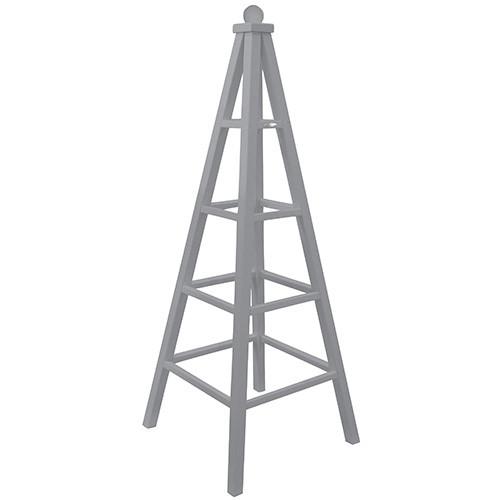 Plantenrek Obelisk grijs