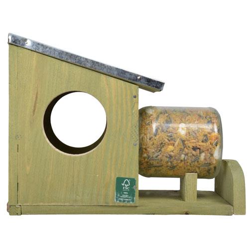 Eekhoornhuis pindakaaspot