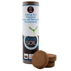 Potgrondtabletten Simply Soil (12 stuks)