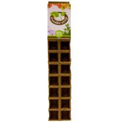 Woodee Potjes vierkant 5x5cm (60 stuks)