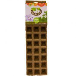 Woodee Potjes vierkant 5x5cm (90 stuks)