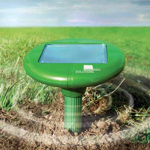 Mollenverdrijver op zonne-energie