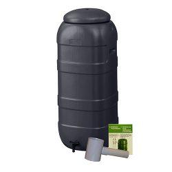 Regenton Mini Rainsaver Antraciet 100 liter