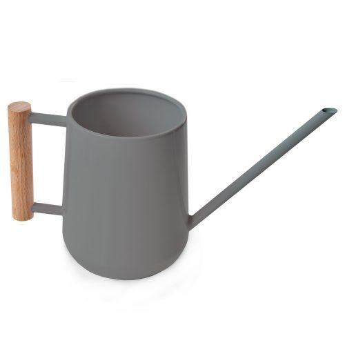 Gieter metaal 0,7 liter antraciet