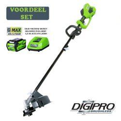 Accu trimmer-bosmaaier 40 Volt + accu & lader