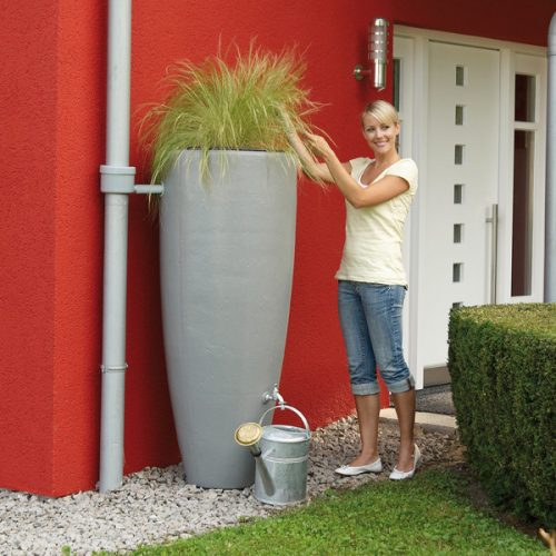 Regenton 2in1 Grijs 300 liter
