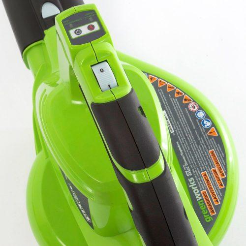 Accu bladblazer en zuiger 40 Volt + accu & lader