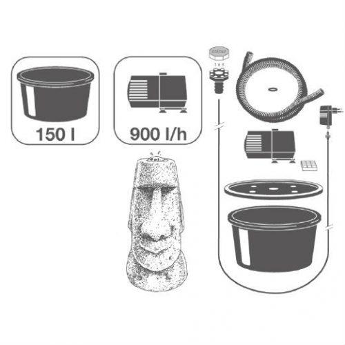 Waterornament Acqua Arte Orito