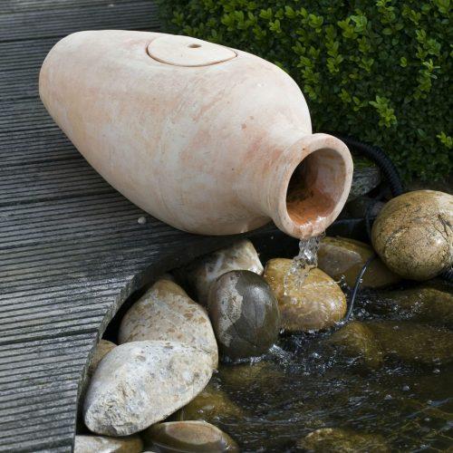Waterornament Amphora kruik filterset