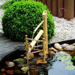 Waterornament Bamboe watertuimelaar