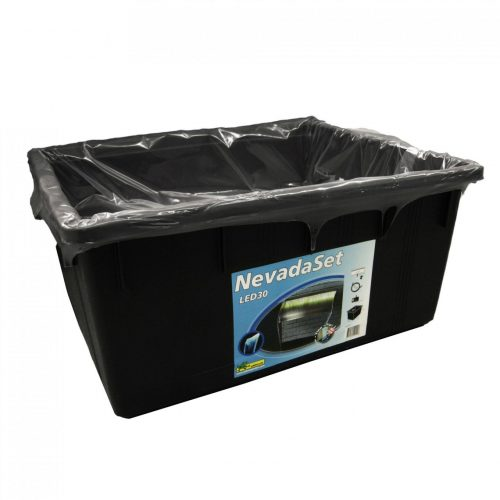 Waterval set Nevada 30cm inclusief pomp, container en accessoires