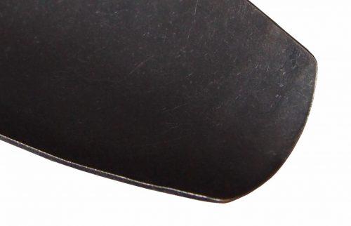 Tuinscoop handmodel gesmeed staal
