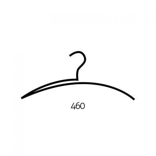 Kledinghanger AH09 staalkleur
