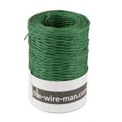Binddraad papier groen
