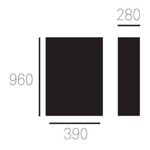 ALLUX 800 ZWART