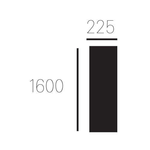 Standaard Allux 1001, wit
