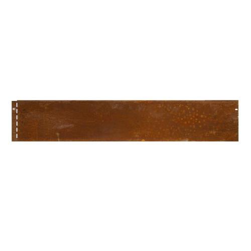Kantopsluiting Cortenstaal 13cm