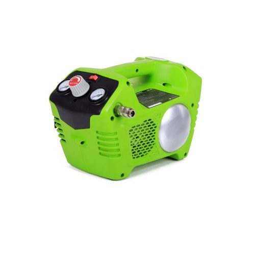 Accu compressor 40 Volt + accu & lader