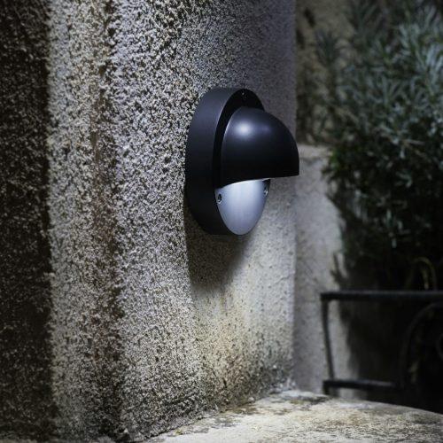 Wandlamp Deimos antraciet