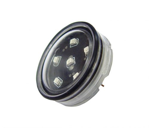 SMD LED unit lamp 1W 12V (6 stuks) blauw