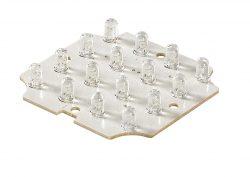 LED unit lamp 2W 12V (16 stuks) wit