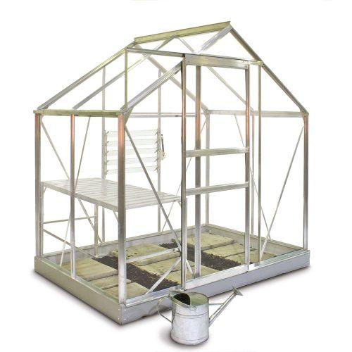 Tuinkas Popular 46, Tuinderglas, aluminium