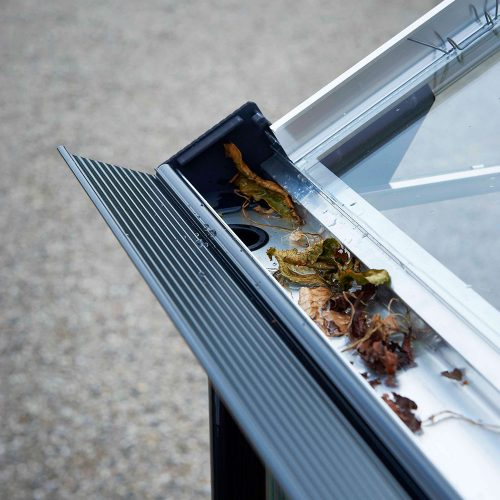 Tuinkas Premium 88, Veiligheidsglas, aluminium