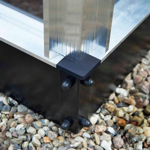 Fundering Compact 66, aluminium